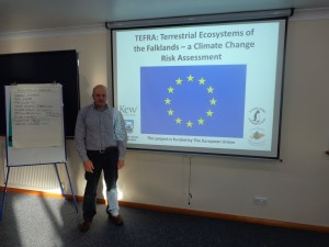 JIM MCADAM (UKFIT) AT THE CLIMATE CHANGE WORKSHOP